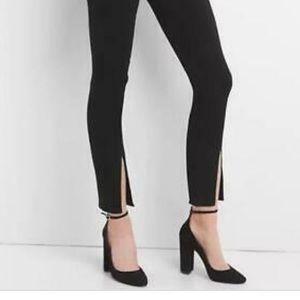 Gap Super High Rise Ankle Jeans in black